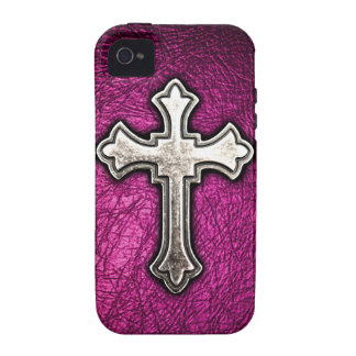 Pink Cross Case For The iPhone 4