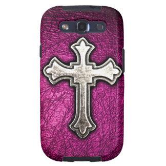 Pink Cross Samsung Galaxy S3 Cases
