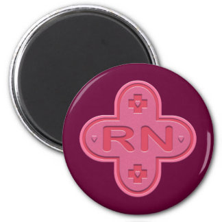 Pink Cross Magnet
