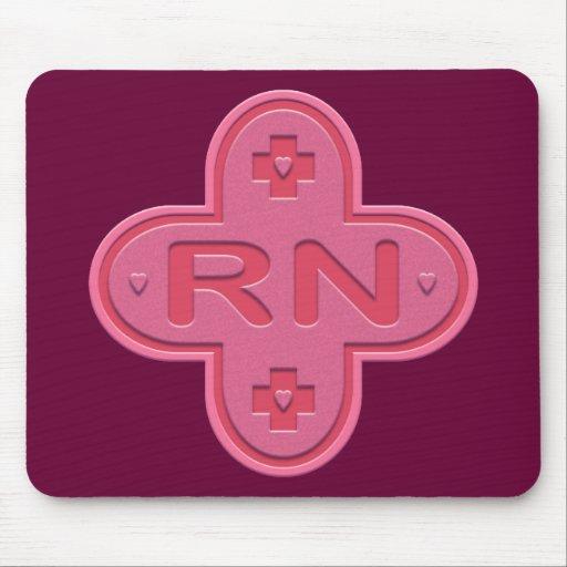 Pink Cross Mousepad