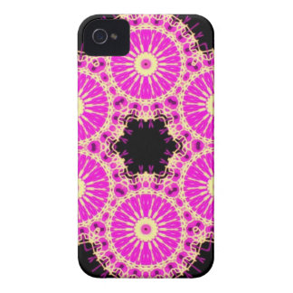 pink cross stich iPhone 4 Case-Mate cases