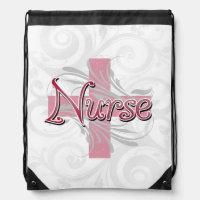 Pink Cross/Swirl Nurse