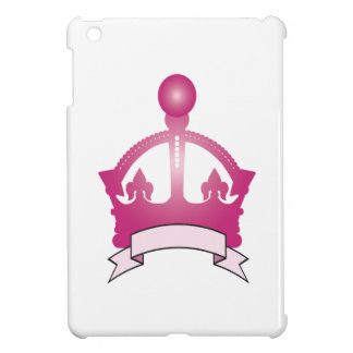 Pink Crown Caption Cover For The iPad Mini
