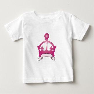 Pink Crown Caption Shirt