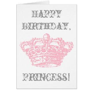 Pink Crown Card