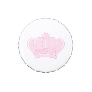 Pink Crown Jelly Belly Tins