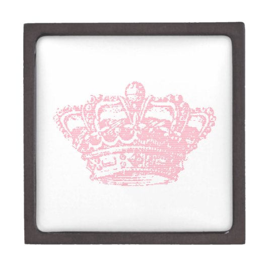 Pink Crown Jewelry Box