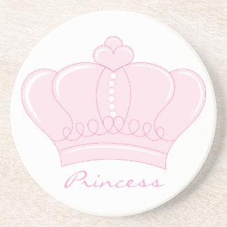Pink Crown - Princess Coaster