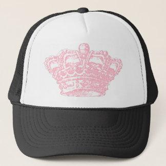 Pink Crown Trucker Hat