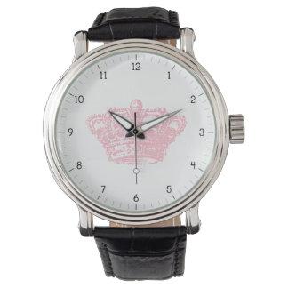 Pink Crown Wristwatch