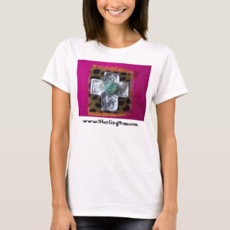 pink crown, www.SterlingMuse.com T-Shirt