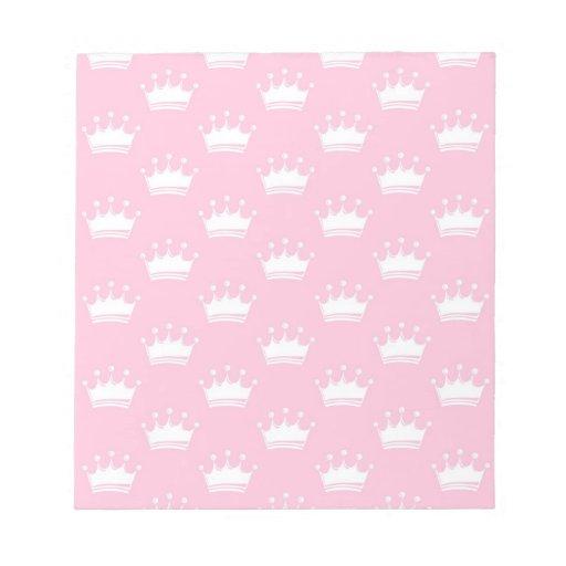 Pink crowns scratch pads