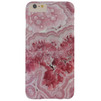 Pink crystal druse geode gem stone photo hipster barely there iPhone 6 plus case