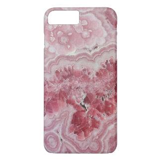 Pink crystal druse geode gem stone photo hipster iPhone 7 plus case