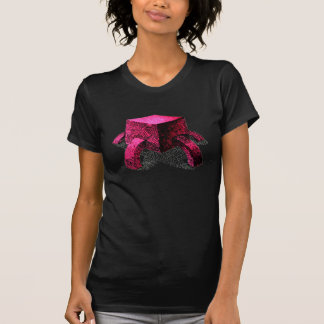 Pink Cube with legs!! Tee Shirts