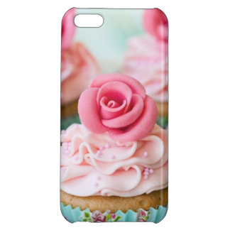 Pink Cup Cake Case For iPhone 5C