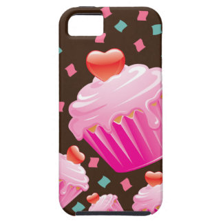 Pink Cupcake and Confetti Cell Phone Case iPhone 5 Covers