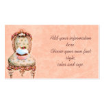 Pink Cupcake and Roses Business Profile Cards Double-Sided Standard Business Cards (Pack Of 100)