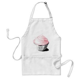 Pink cupcake apron