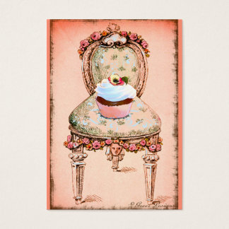 Pink Cupcake Bakery Business Profile Card