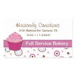 Pink Cupcake Bakery Cupcake Business Card