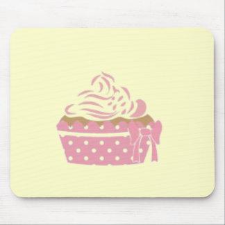 Pink Cupcake Birthday Mouse Pad