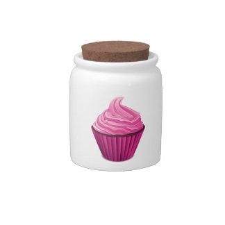 Pink Cupcake Candy Dish