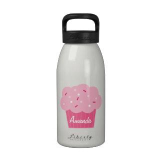 Pink Cupcake Children s Water Bottle