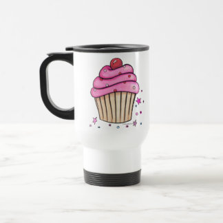Pink Cupcake Coffee Cup