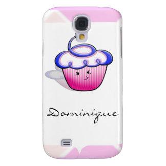 Pink Cupcake Cutie Galaxy S4 Case