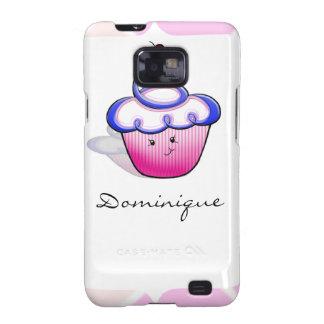 Pink Cupcake Cutie Samsung Galaxy S Case