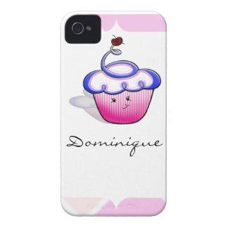 Pink Cupcake Cutie iPhone 4 Case-Mate Case