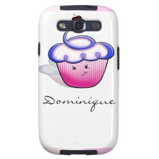 Pink Cupcake Cutie Samsung Galaxy S3 Cover