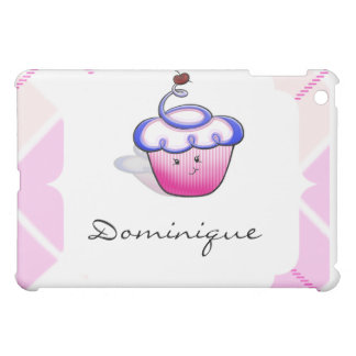 Pink Cupcake Cutie iPad Mini Cover