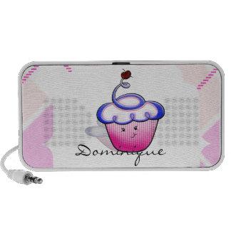 Pink Cupcake Cutie Portable Speakers