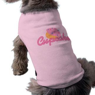 Pink Cupcake Doggie Shirt