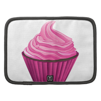 Pink Cupcake Folio Planner
