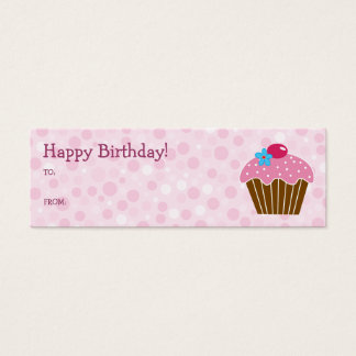 Pink Cupcake Gift Card