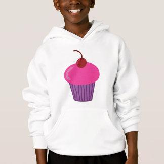 Pink Cupcake Hooded Sweatshirt