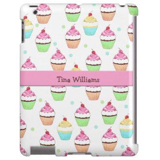 Pink Cupcake iPad Case