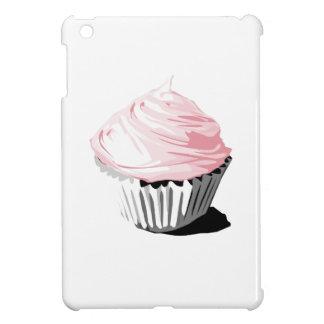 Pink cupcake iPad mini cover