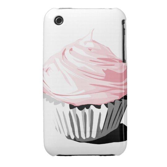 Pink cupcake iPhone3G iPhone 3 Case