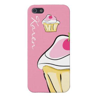 Pink cupcake iPhone 5 case