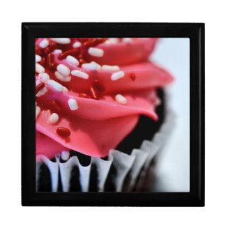 Pink Cupcake Jewelry Box