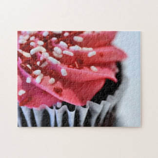 Pink Cupcake Jigsaw Puzzles