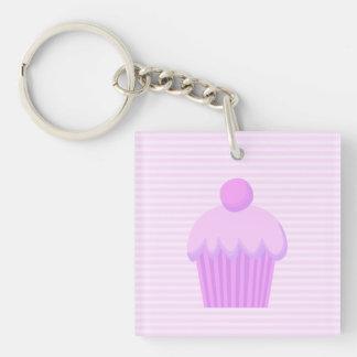 Pink Cupcake. Keychain
