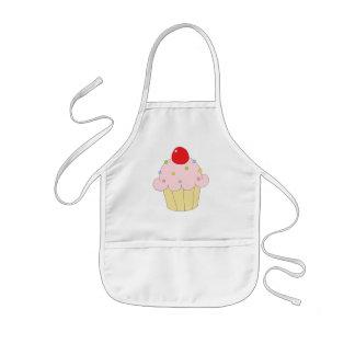 Pink Cupcake Kids' Apron