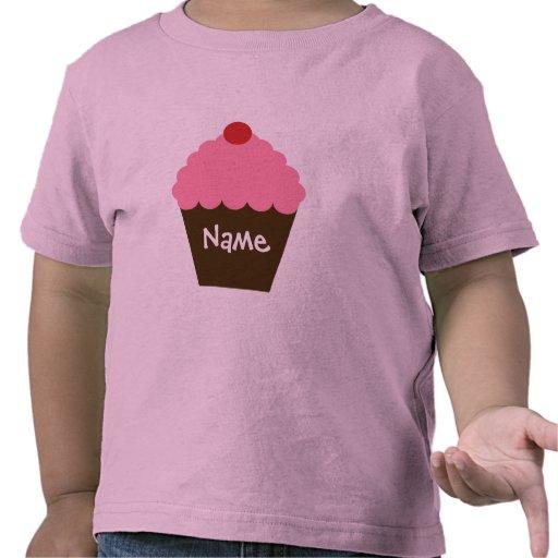Pink Cupcake Love T Shirts