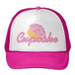 Pink Cupcake Mesh Hats