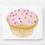 Pink Cupcake Mouse Pads